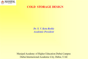 Cold Storage Design