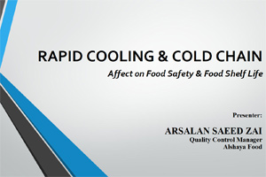 Rapid Cold Chain